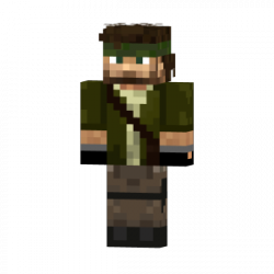 Скин для Minecraft Alternate Solid Snake