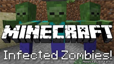 Мод Zombie Infection для minecraft 1.8